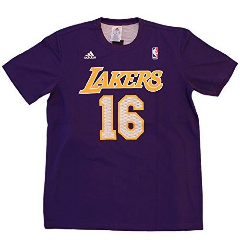 Adidas LA Lakers REV GMTM T-Shirt Gasol Basket 16 Homme de la marque adidas TOP 2 image 0 produit