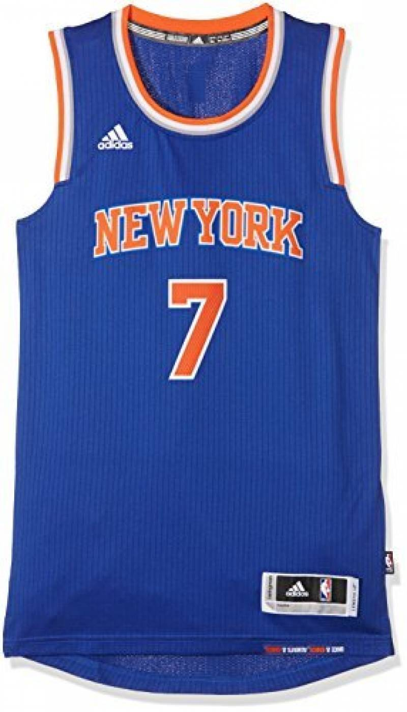 Adidas Maillot Authentique Swingmann New York Knicks Carmelo Anthony de la marque adidas TOP 5 image 0 produit