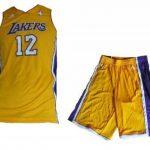 Adidas - Maillot et short NBA dwight Howard Los angeles Lakers pour junior et enfant adidas jaune taille - 16 ans de la marque adidas TOP 4 image 0 produit