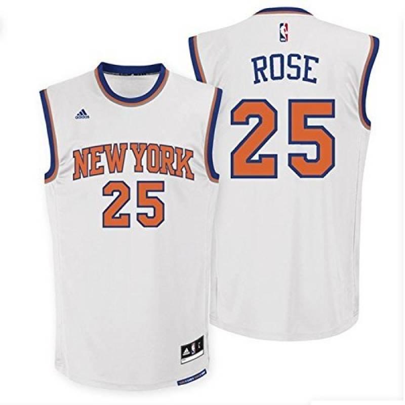 Adidas - Maillot NBA Derrick Rose New York Knicks adidas Replica Blanc pour Homme de la marque adidas TOP 7 image 0 produit