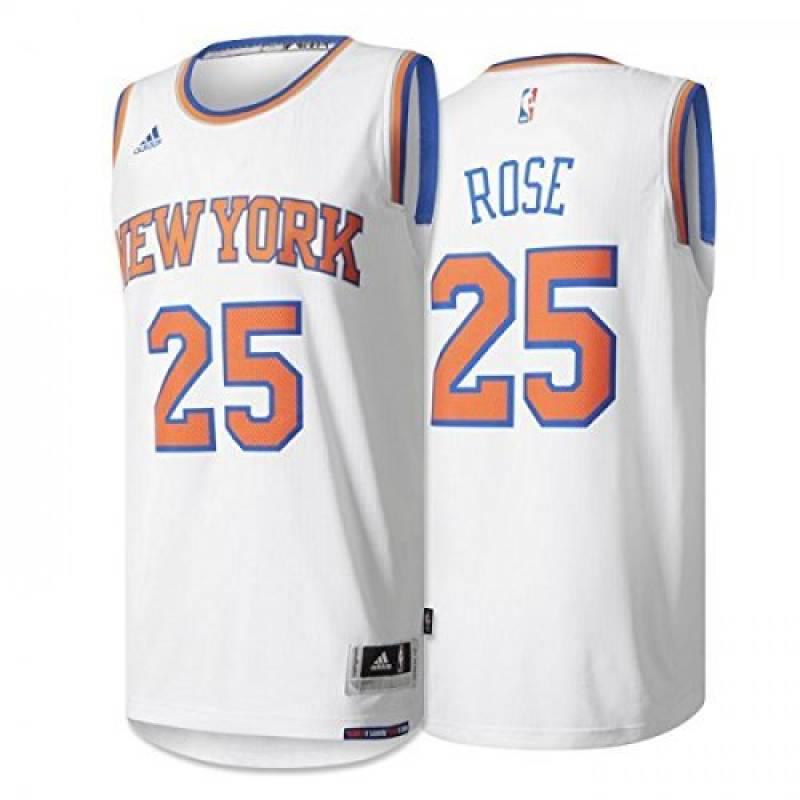 Adidas - Maillot NBA Derrick Rose New York Knicks adidas swingman Blanc pour Homme de la marque adidas TOP 13 image 0 produit