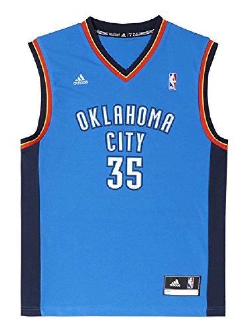 adidas Men's Oklahoma City Thunder NBA Maillot de basketball Kevin Durant de la marque adidas TOP 7 image 0 produit