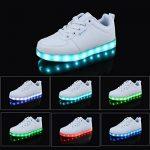 Angin-tech LED Chaussures Unisexe Homme Femme Chaussure LED Sports Basket Lumineuse 7 Couleur USB Charge Chaussure Lumineuse Clignotants de avec Certificat CE d TOP 13 image 2 produit