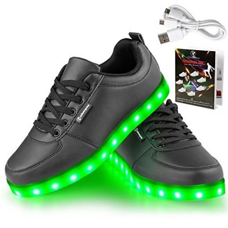 Angin-tech LED Chaussures Unisexe Homme Femme Chaussure LED Sports Basket Lumineuse 7 Couleur USB Charge Chaussure Lumineuse Clignotants de avec Certificat CE d TOP 8 image 0 produit
