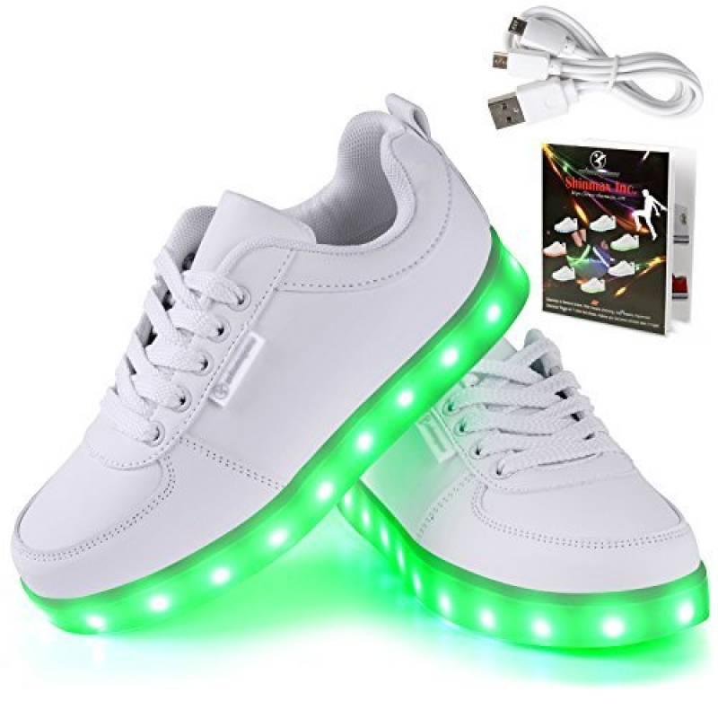 Angin-tech LED Chaussures Unisexe Homme Femme Chaussure LED Sports Basket Lumineuse 7 Couleur USB Charge Chaussure Lumineuse Clignotants de avec Certificat CE d TOP 13 image 0 produit