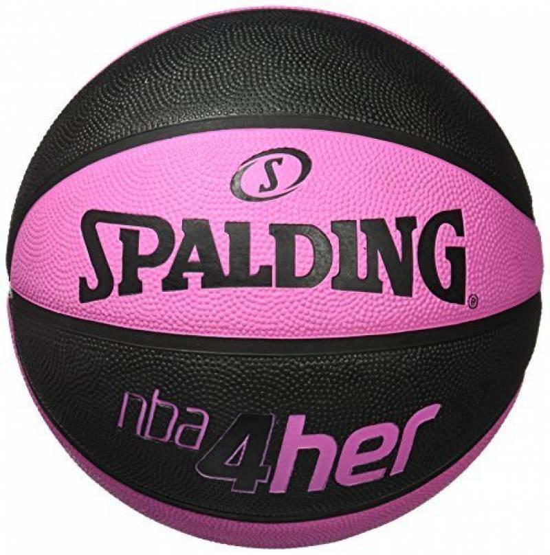 cd946e599c66e Ballon de Basket-Ball SPALDING NBA 4HER Solid Rose de la marque Spalding  TOP 4