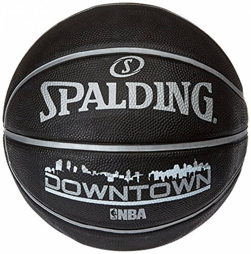Ballon de Basket-Ball SPALDING NBA Downtown Noir de la marque Spalding TOP 9 image 0 produit