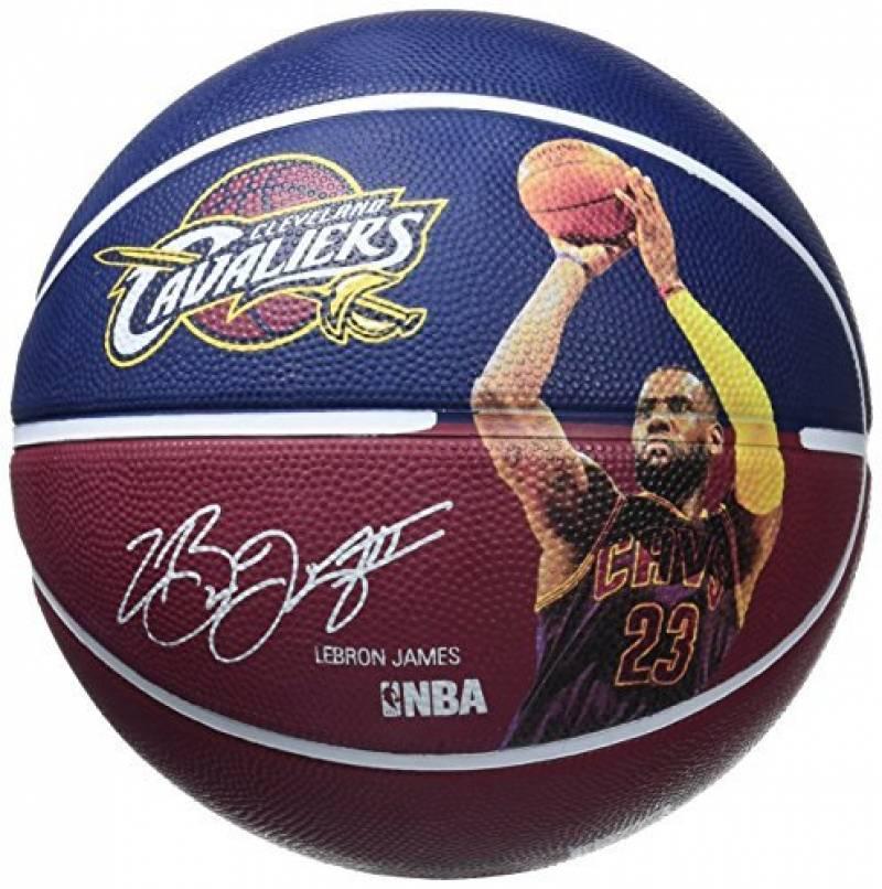 Ballon de Basket-Ball SPALDING NBA Player Ball 2016 LeBron James de la marque Spalding TOP 3 image 0 produit