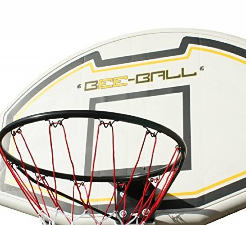 BEE-BALL ZY - 020 Panier de Basketball avec Panneau complet &filet pour usage extérieur &pour adultes et enfants de la marque Bee-Ball TOP 3 image 0 produit