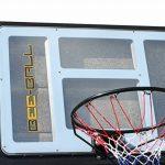 BEE-BALL ZY-020 Panier de basketball avec plaque anneau flexible et filet pour usage extérieur taille conforme NBA de la marque Bee-Ball TOP 13 image 0 produit