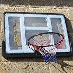 BEE-BALL ZY-020 Panier de basketball avec plaque anneau flexible et filet pour usage extérieur taille conforme NBA de la marque Bee-Ball TOP 13 image 1 produit