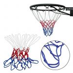 Dealglad 5 mm robuste en nylon Bleu Blanc Rouge Basketball Net But Créoles Jante de remplacement en maille de la marque Dealglad TOP 1 image 0 produit