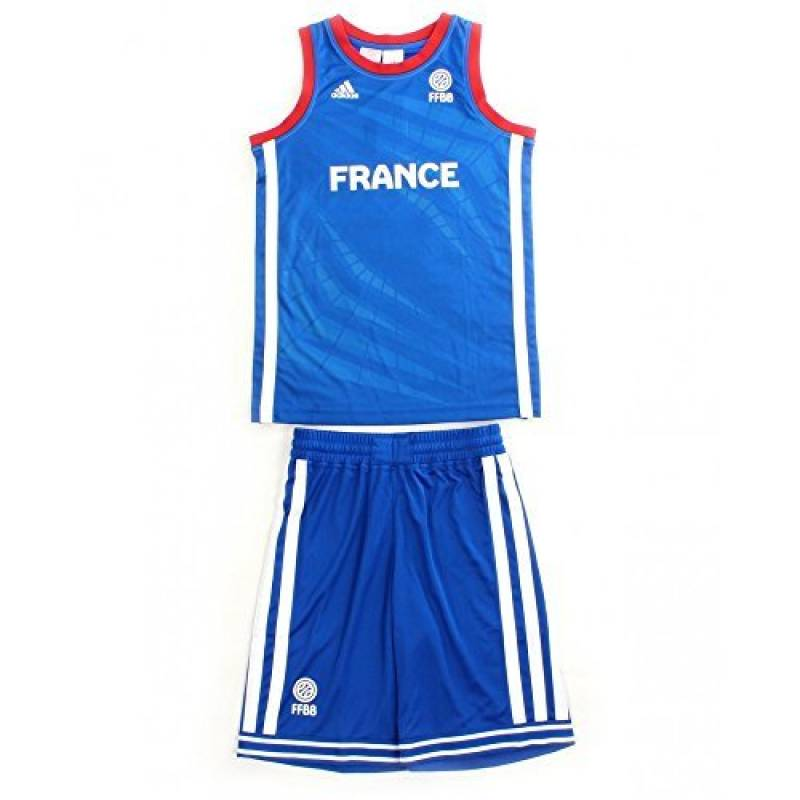 Ensemble ADIDAS PERFORMANCE Mini Kit Enfant Basketball France FFBB de la marque adidas TOP 5 image 0 produit