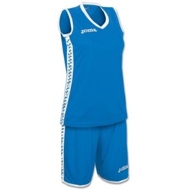 Ensemble Basket Femme PIVOT JOMA Bleu Royal / Blanc de la marque Joma TOP 4 image 0 produit