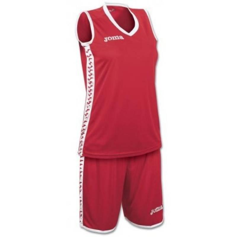 Ensemble Basket Femme PIVOT JOMA Rouge / Blanc de la marque Joma TOP 5 image 0 produit