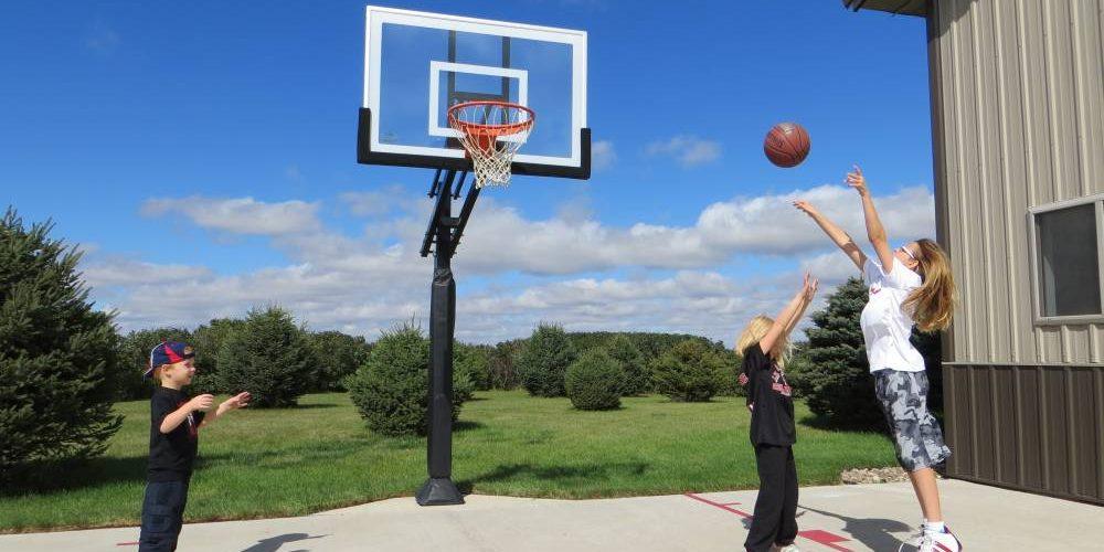 Equipement de basket principale