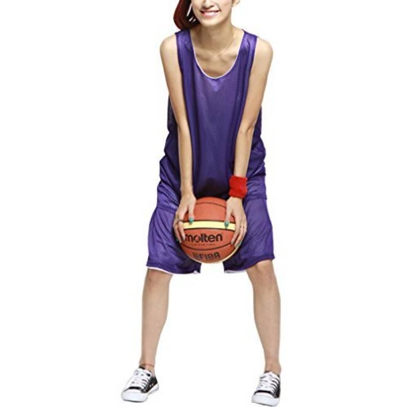 HOEREV fille Reversible Sport Basketball Shorts et chemises, pas de poches de la marque Hoerev TOP 10 image 0 produit