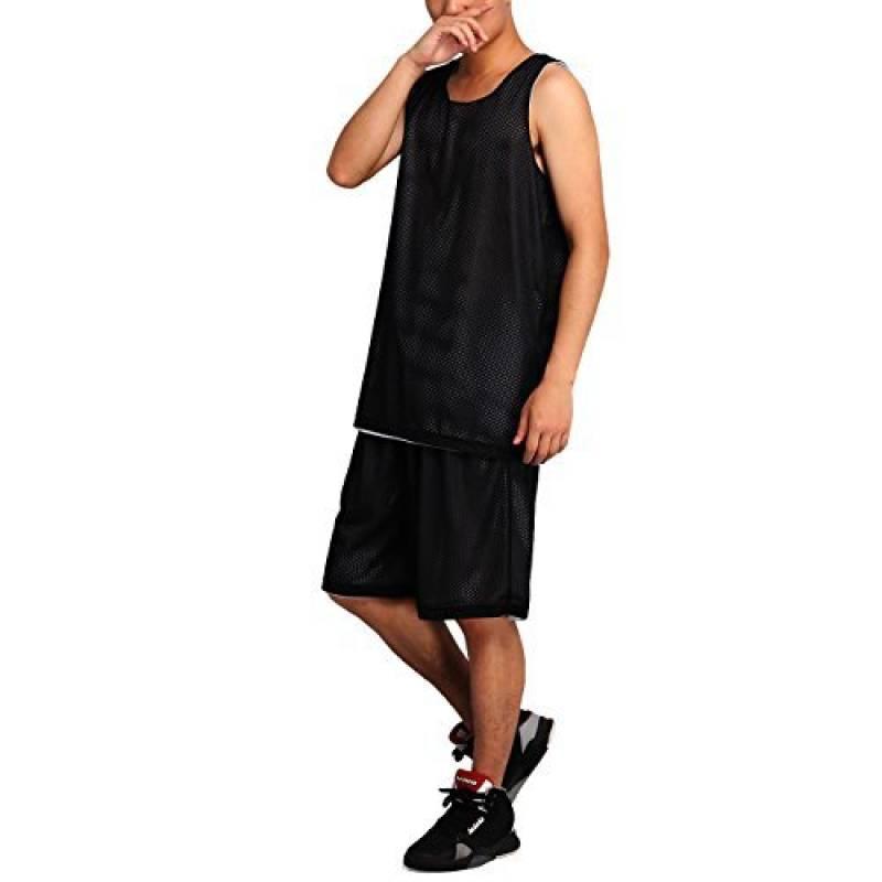 HOEREV hommes réversible Sport Basketball Shorts et chemises, pas de poches de la marque Hoerev TOP 6 image 0 produit