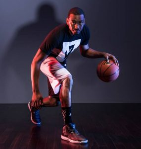 La marque Adidas pour le basket-ball principale