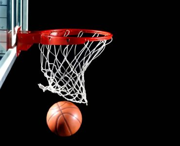 Le panier de basket principale