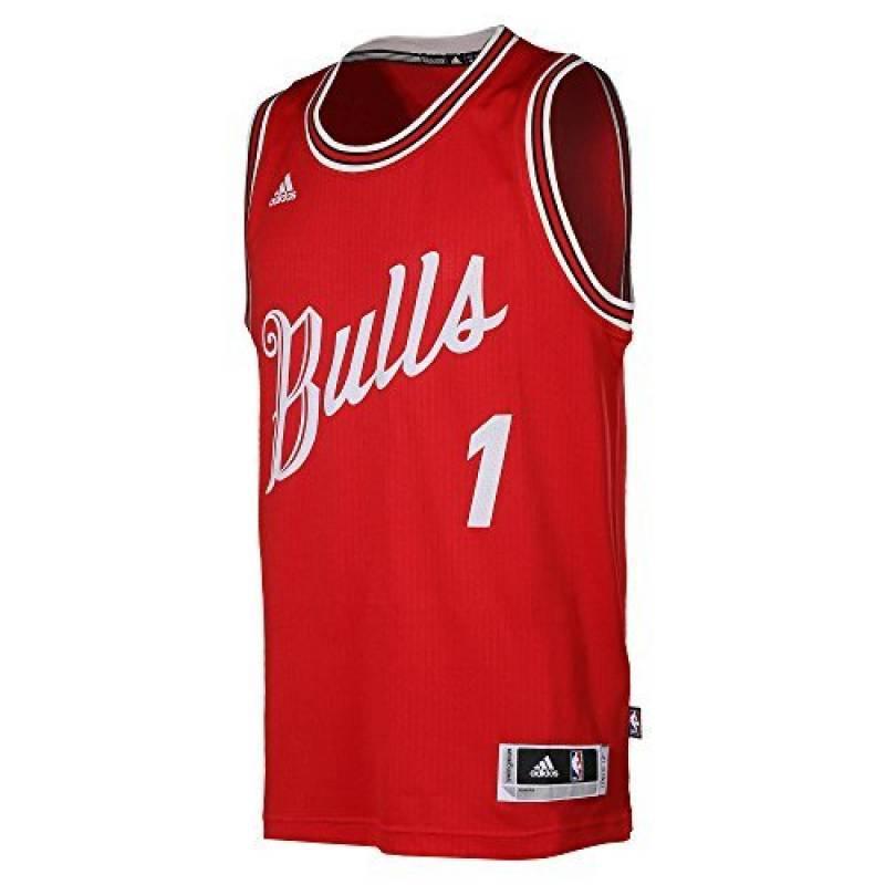 e03d3f63d6627 Maillot ADIDAS NBA Basketball Xmas Swingman Derrick Rose nº1 Chicago Bulls  Pour Homme de la marque