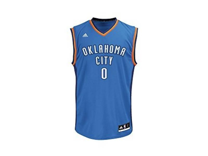Maillot ADIDAS NBA Oklahoma City Thunder Russell Westbrook Bleu de la marque adidas TOP 12 image 0 produit