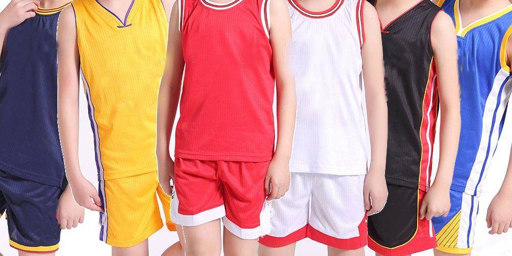 Maillot de basket pour enfant principale