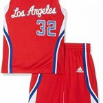 Maillot et Short Junior ADIDAS NBA Los Angeles Clippers Blake Griffin Rouge de la marque adidas TOP 3 image 0 produit