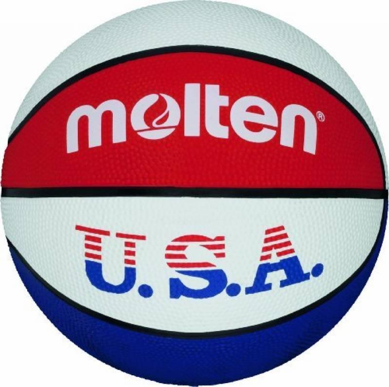 Molten Ballon de basket pour l'entraînement aux couleurs des Etats-Unis Couleurs: bleu/blanc/rouge - de la marque Molten TOP 4 image 0 produit