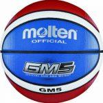 Molten BGMX5-C Ballon de basket Rouge/blanc/bleu Taille 5 de la marque Molten TOP 6 image 0 produit