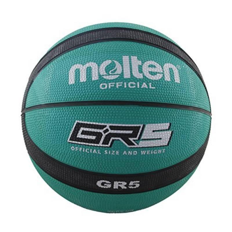 Molten BGR5-GK - Ballon de basket-ball, couleur vert / noir, taille 5 de la marque Molten TOP 1 image 0 produit