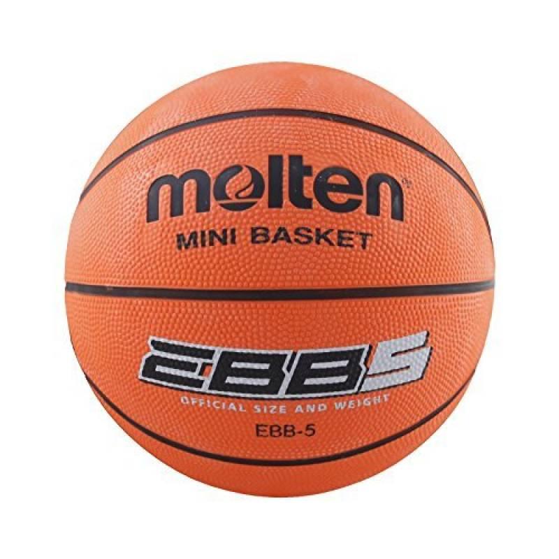 Molten EBB5 - Ballon de basket-ball, couleur orange, taille 5 de la marque Molten TOP 12 image 0 produit
