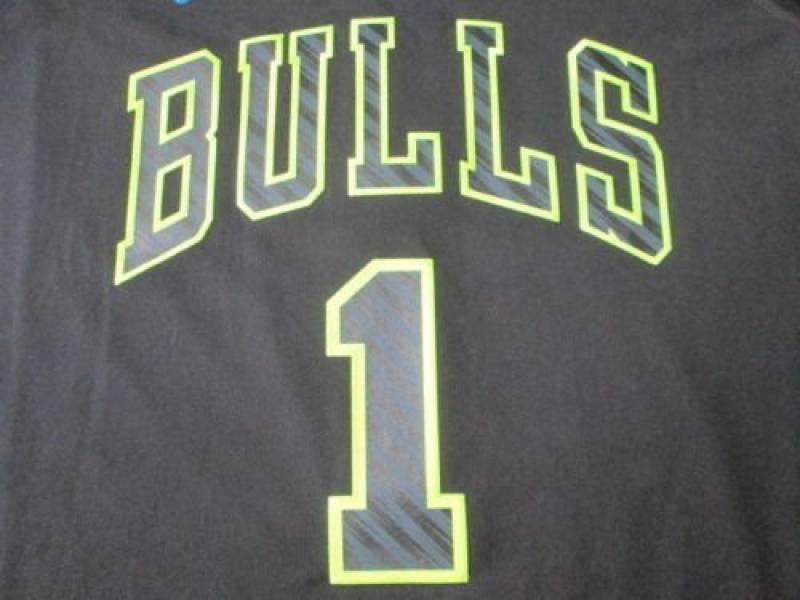 NBA Chicago Bulls Derrick Rose Édition limitée Maillot#1 pour homme Grand Owc NWT de la marque adidas TOP 6 image 0 produit
