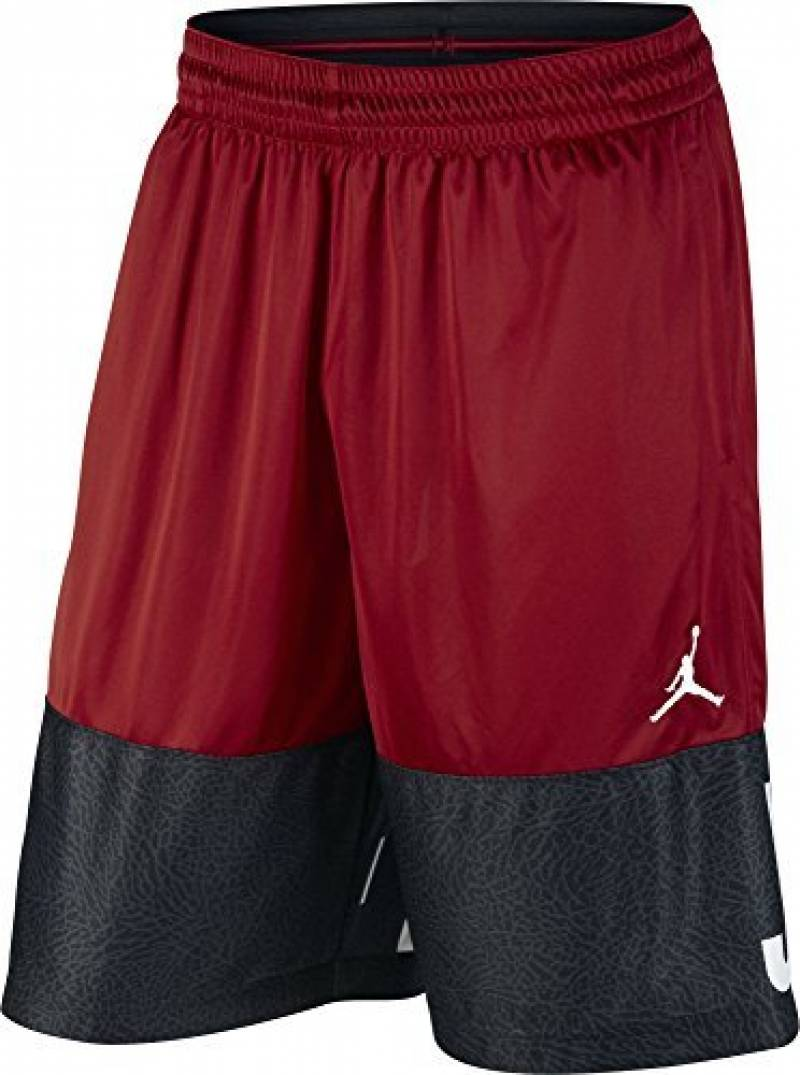 Nike CLassic AJ Blockout Short ligne Michael Jordan de basketball pour homme, Rouge (Gym Filet / Black / White), XS de la marque Nike TOP 13 image 0 produit