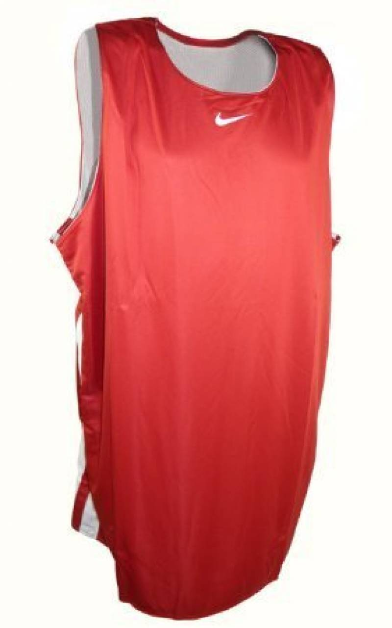 Nike Hustle Reversible Tank Homme Tee Shirt Sans Manche Basket Mens Vest Swoosh Basketball Tank Top Reversible Hustle Jersey Grey/Blue S-4XL New 406023 100 de l TOP 8 image 0 produit