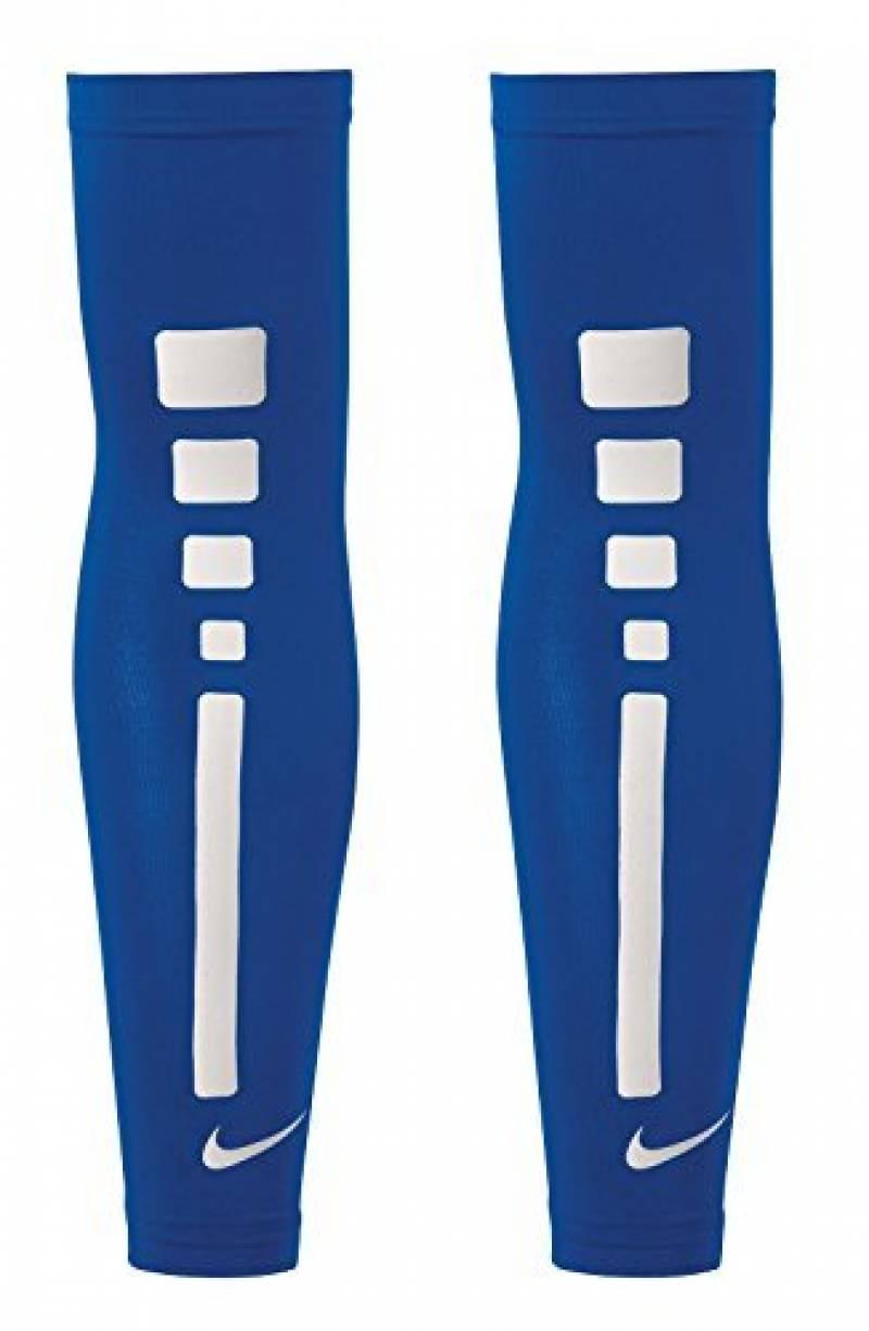Paire de manchons Couvre Bras Nike Pro Elite Sleeves Blue Royal Blanc Basket manches de la marque Nike TOP 7 image 0 produit