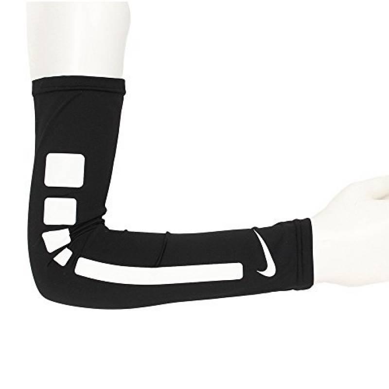 Paire de manchons Couvre Bras Nike Pro Elite Sleeves noir blanc Basket manches de la marque Nike TOP 13 image 0 produit