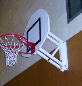 Panier de basket mural principale
