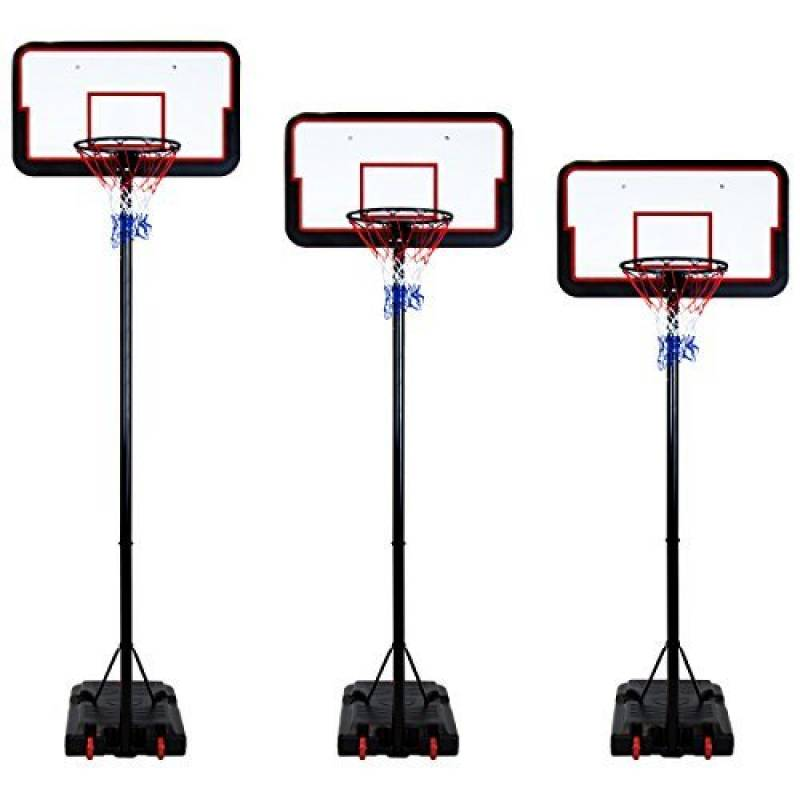 Panier de basket taille entière - portique et carré réglables 205-305 cm de la marque Charles Bentley TOP 8 image 0 produit