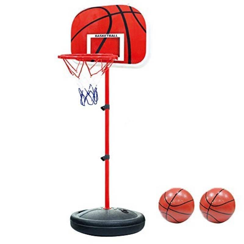Pellor Mini panier de basketball ajustable portable Jeux de Plein air pour Enfants de la marque Pellor TOP 10 image 0 produit