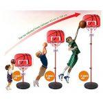 Pellor Mini panier de basketball ajustable portable Jeux de Plein air pour Enfants de la marque Pellor TOP 10 image 1 produit
