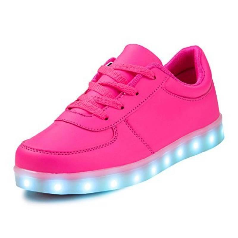 SAGUARO® Unisexe Enfant Adulte 7 couleurs LED chaussure clignotante basket lumineuse de la marque SAGUARO TOP 12 image 0 produit
