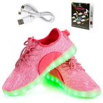 Shinmax LED ChaussuresLED Chaussures,Shinmax Chaussure LED Sports Basket Lumineuse 7 Couleur USB Charge Chaussure Clignotants pour Unisexe Homme Femme Garçon Fi TOP 1 image 0 produit