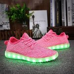 Shinmax LED ChaussuresLED Chaussures,Shinmax Chaussure LED Sports Basket Lumineuse 7 Couleur USB Charge Chaussure Clignotants pour Unisexe Homme Femme Garçon Fi TOP 1 image 1 produit