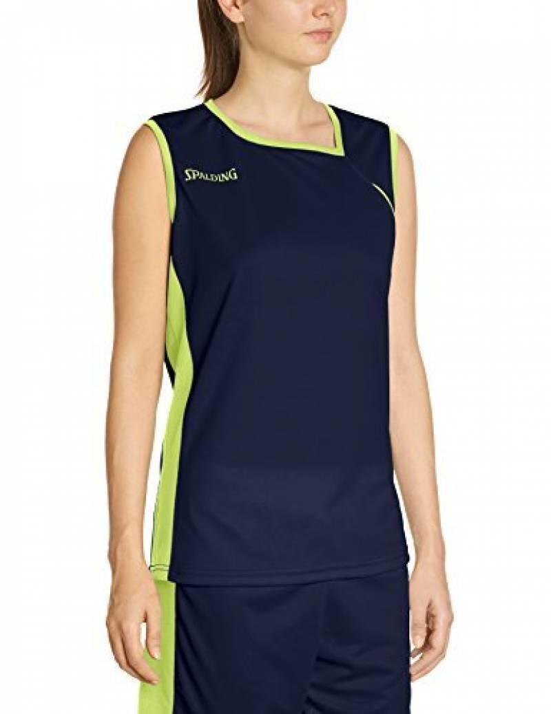 Spalding 4her II Maillot de basket Femme Bleu Marine/Jaune de la marque Spalding TOP 7 image 0 produit