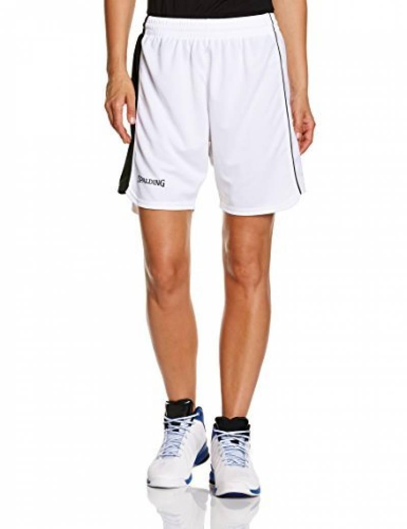 Spalding 4her II Short de basket Femme Bleu Marine/Jaune de la marque Spalding TOP 8 image 0 produit