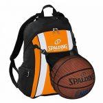 Spalding Ballon de basketball Orange/noir + Sac à dos Filet et gourde de la marque Spalding TOP 1 image 0 produit