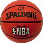 Spalding Ballon de basketball pour extérieur avec logo NBA argenté de la marque Spalding TOP 12 image 0 produit
