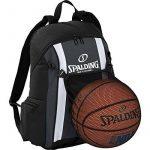 Spalding Ballon de basketball Sac à dos Anthracite/noir incl. Filet + Gourde de la marque Spalding TOP 14 image 0 produit