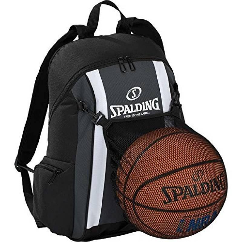 Spalding Ballon de basketball Sac à dos Anthracite/noir incl. Filet + Gourde de la marque Spalding TOP 5 image 0 produit